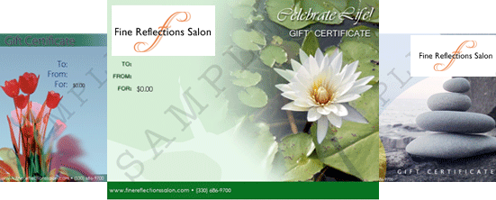 Click here to create your personalized gift certificate!